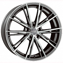 OZ Envy R17x7.5J 5x108 ET45 DIA75 Matt Silver Tech Diamond Cut