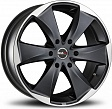 MAK Raptor6 R16x7J 6x139.7 ET38 DIA100.1 Graphite Mirror Face - ice superdark