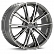 OZ Envy R17x7.5J 5x108 ET45 DIA75 Matt Silver Tech Diamond Cut - matt graphite diamond cut