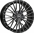 OZ Ego R19x8.5J 5x114.3 ET38 DIA75 Matt Black + Diamond Cut - diamantata
