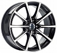 Borbet BL5 R18x8J 5x114.3 ET50 DIA72.6 Black Polished Glossy - black polished