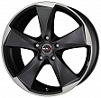 MAK Raptor5 R19x9.5J 5x120 ET20 DIA72.6 Graphite Mirror Face - ice superdark
