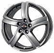 Alutec Shark R18x8J 5x115 ET45 DIA70.2 Racing black front polished - sterling silver