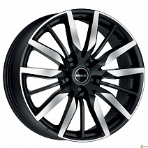 MAK Barbury R20x9.5J 5x112 ET33 DIA66.5 Ice Black