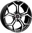 HARP Y-50 R20x9J 5x112 ET25 DIA66.56 Satin black - satin black machined