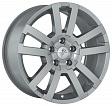 Fondmetal 7700-1 R18x8.5J 5x108 ET45 DIA63.4 Black polished - silver