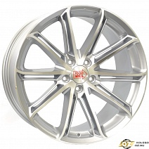 MIGLIA MM1007 R19x8.5J 5x114.3 ET42 DIA67.1 Silver Gloss Polished