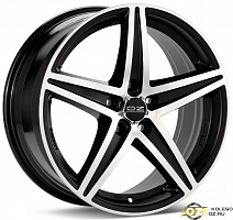 OZ Energy R17x8J 5x112 ET48 DIA75.1 Matt Black + Diamond Cut