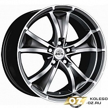Antera 383 R19x8.5J 5x112 ET30 DIA75 Diamant black front polished