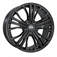OZ Cortina R19x9J 5x120 ET45 DIA65.1 Matt Dark Graphite Diamond Cut - matt black