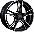 OZ Adrenalina R16x7.5J 5x112 ET48 DIA75 Matt Black + Diamond Cut - diamantata
