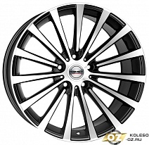 Borbet BLX R19x8.5J 5x114.3 ET40 DIA72.5 Black polished matt