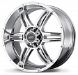 American Racing AR890 R17x8J 5x139.7 ET0 DIA108 Black/Machined - chrome