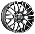 MOMO REVENGE R17x7J 4x100 ET42 DIA67.1 Matt Black-Polished - matt anthracite