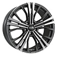 OZ Cortina R19x9J 5x120 ET45 DIA65.1 Matt Dark Graphite Diamond Cut - matt dark graphite d.c.