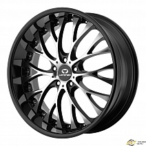 Lorenzo WL27 R19x9.5J 5x114.3 ET32 DIA72.6 Black/Machined