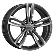 MAK Luft R19x8.5J 5x112 ET25 DIA66.6 Ice Black - gun metallic - mirror face