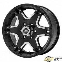 American Racing AR392 R18x8.5J 6x139.7 ET30 DIA78.1 Black/Machined