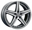 OZ Energy R17x8J 5x112 ET48 DIA75.1 Matt Black + Diamond Cut - silver tech