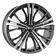 OZ Cortina R19x9J 5x120 ET45 DIA65.1 Matt Dark Graphite Diamond Cut - matt dark graphite