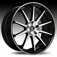 Lexani R10 R18x8J 5x120 ET35 DIA73 Chrome - black/machined