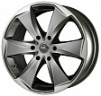 MAK Raptor6 R16x7J 6x139.7 ET38 DIA100.1 Graphite Mirror Face - graphite mirror face