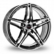 Borbet XRT R19x8.5J 5x112 ET35 DIA72.5 Red Front Polished - black polished