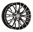 1000 Miglia MM1009 R17x7J 5x114.3 ET50 DIA67.1 Silver High Gloss - dark anthracite polished