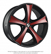 Eta Beta Tettsut X R18x8J 5x112 ET25 DIA66.55 Black Shiny Polish - black+m203