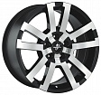 Fondmetal 7700 R18x8.5J 6x139.7 ET35 DIA67.2 Silver - black polished