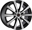 MAK Iguan R17x7J 5x114.3 ET50 DIA76 Graphite Mirror Face - ice black