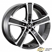 OZ Sahara 5 R18x8J 5x108 ET45 DIA75 Matt Graphite Diamond Cut