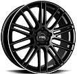 Rial KiboX R21x9.5J 5x108 ET35 DIA63.3 Metal Grey - diamant black lip polished