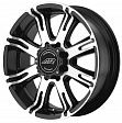 American Racing AR708 R22x9.5J 5x139.7 ET20 DIA108 White/PVD - black/machined