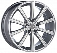 OZ Lounge 10 R17x7.5J 5x112 ET50 DIA75 Matt Black + Diamond Cut - metal silver