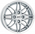 Alutec Burnside R15x6J 5x112 ET45 DIA57.06 Diamant black front polished - polar silver