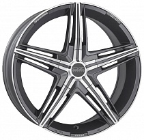 OZ David R18x8J 5x110 ET38 DIA75 Matt Graphite Diamond Cut