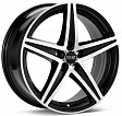 OZ Energy R17x8J 5x112 ET48 DIA75.1 Matt Black + Diamond Cut - diamantata
