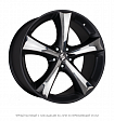 Eta Beta Tettsut X R18x8J 5x112 ET25 DIA66.55 Black Shiny Polish - black