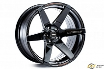 Cosmis Racing S1 R18x9.5J 4x114.3 ET15 DIA73.1 Black W/MS+ML