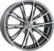 OZ Envy R17x7.5J 5x108 ET45 DIA75 Matt Silver Tech Diamond Cut - matt silver tech d.c.