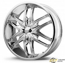 KMC KM678 R22x9.5J 6x139.7 ET38 DIA106.2 Black/Machined