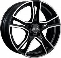OZ Adrenalina R16x7.5J 5x112 ET48 DIA75 Matt Black + Diamond Cut