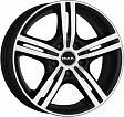 MAK Veloce Light R16x6.5J 5x100 ET48 DIA56.1 Matt Titan - ice black