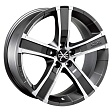 OZ Sahara 5 R18x8J 5x108 ET45 DIA75 Matt Graphite Diamond Cut - matt graphite diamond cut