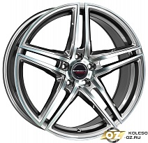 Borbet XRT R19x8.5J 5x112 ET35 DIA72.5 Red Front Polished