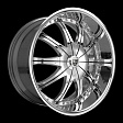 Lexani CS2 R21x10.5J 5x120 ET25 DIA74.1 Black - chrome