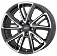 Alutec Xplosive R18x8J 5x114.3 ET35 DIA70.1 Graphite matt front polished - graphite matt polished