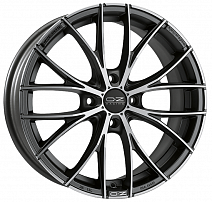OZ Italia 150 R19x8J 5x114.3 ET45 DIA75 Matt Dark Graphite Diamond Cut