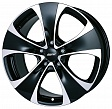 Alutec Dynamite R18x8.5J 5x150 ET52 DIA110.1 Diamant black front polished - diamant black front polished